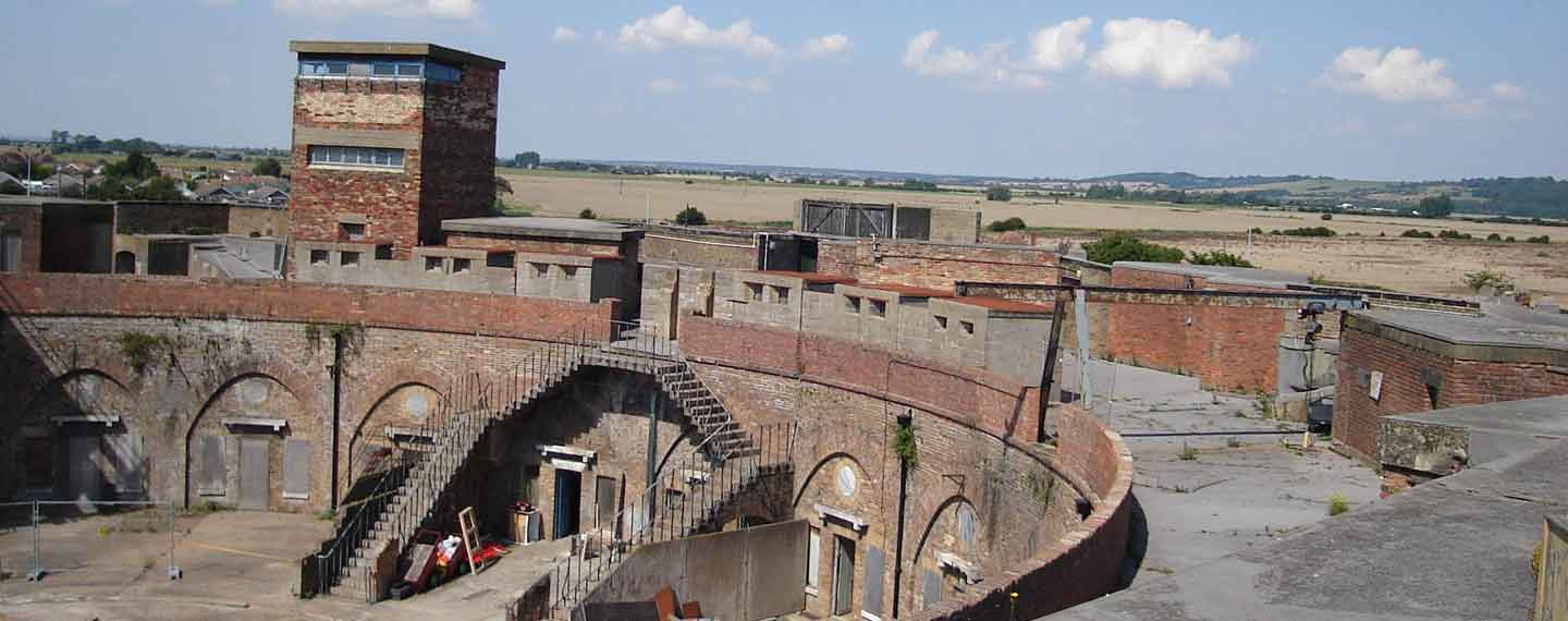 Diractors and Producers dream for filming - Forts , Historic Buildings, Hangars and Warehouses